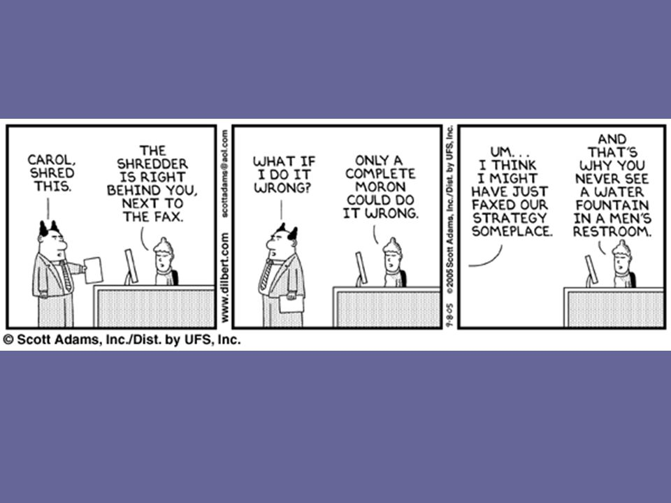 Apologies to those who don't like Dilbert