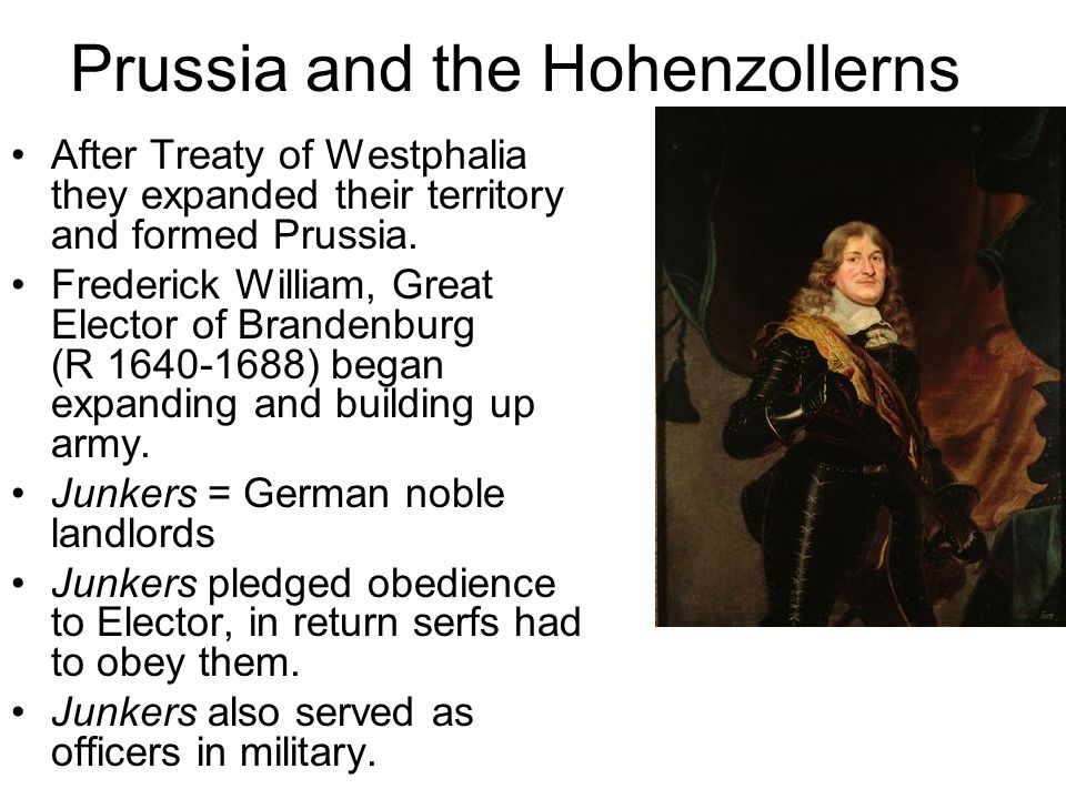 Prussia and the Hohenzollerns