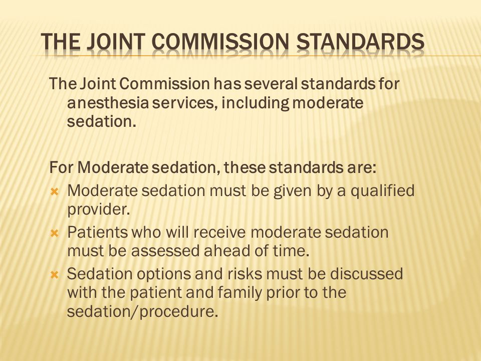 The Joint Commission Standards