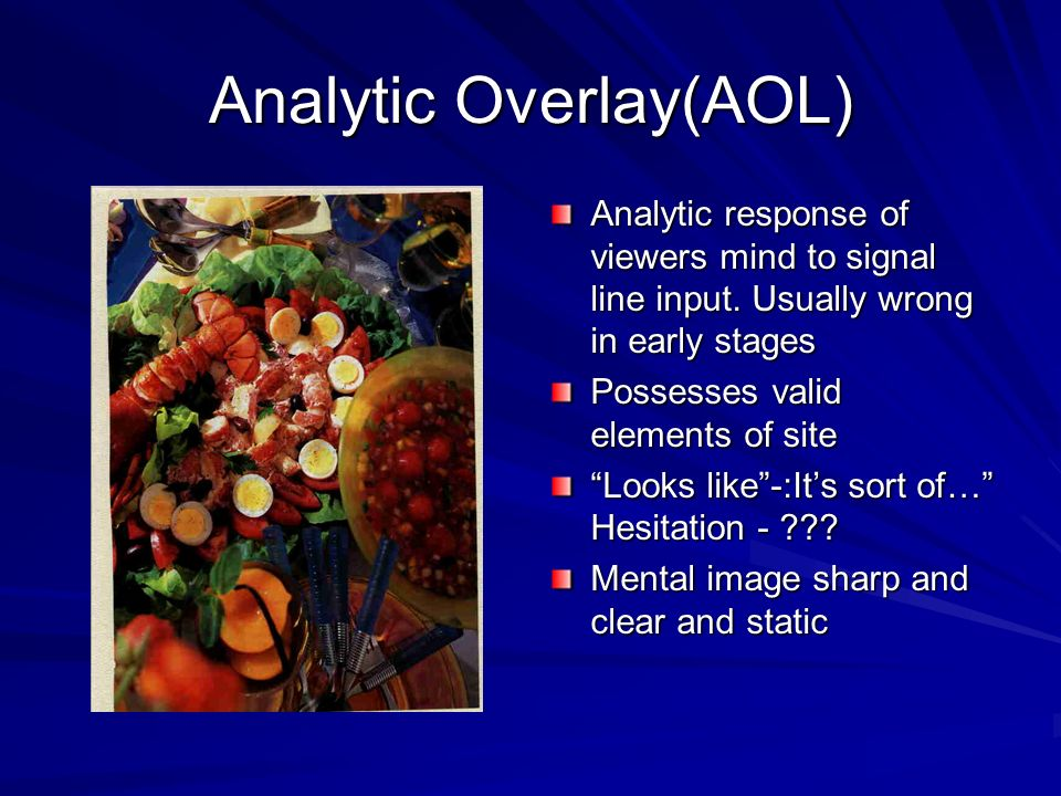 Analytic Overlay(AOL)