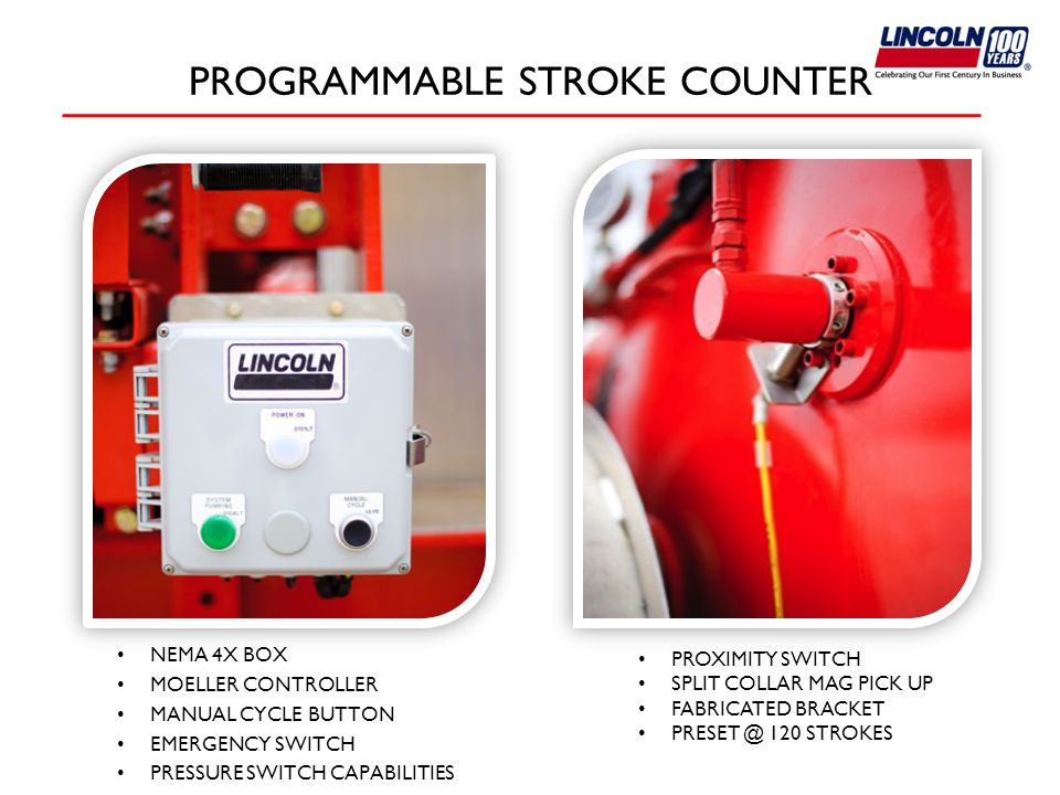 PROGRAMMABLE STROKE COUNTER