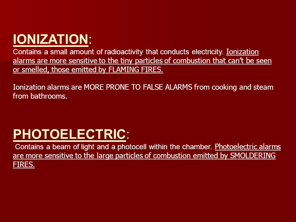 IONIZATION: PHOTOELECTRIC: