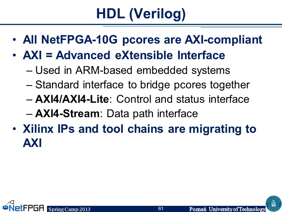 NetFPGA Spring Camp Day 1 - ppt download