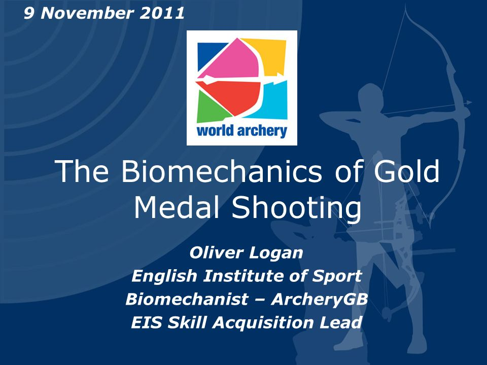 The Biomechanics of Gold Medal Shooting