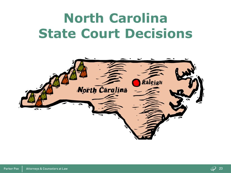North Carolina State Court Decisions