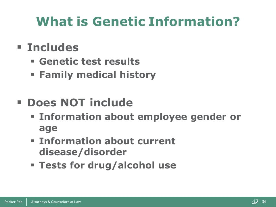 What is Genetic Information