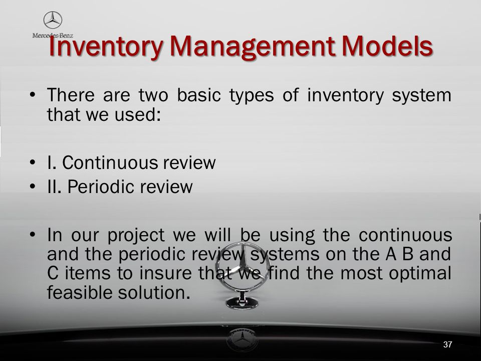 research proposal on inventory management Purpose – the purpose of this paper is to provide a review of inventory management articles published in major logistics outlets, identify themes from the.