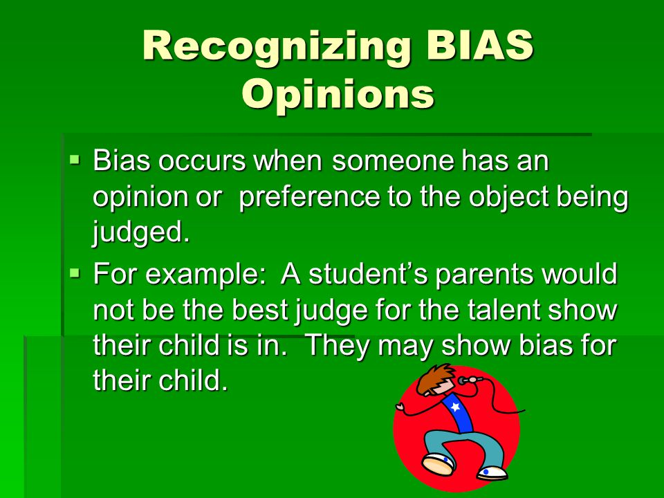 Recognizing BIAS Opinions