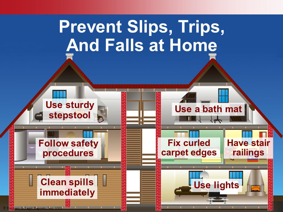 Prevent Slips, Trips, And Falls at Home