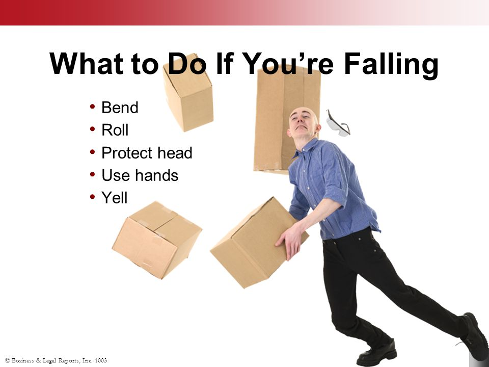 What to Do If You're Falling