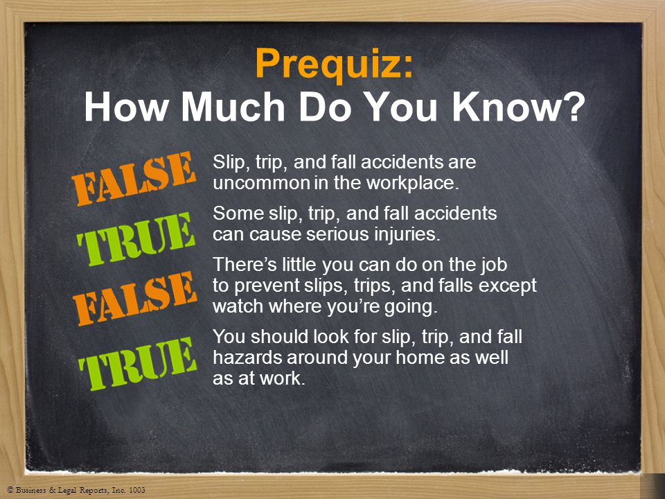 Prequiz: How Much Do You Know