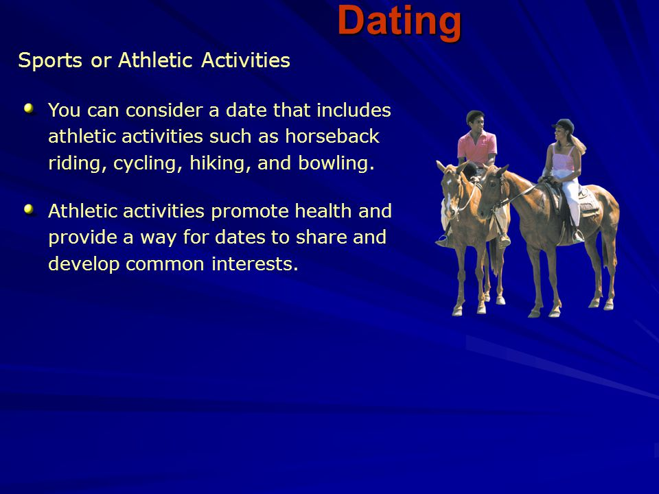 Dating Sports or Athletic Activities