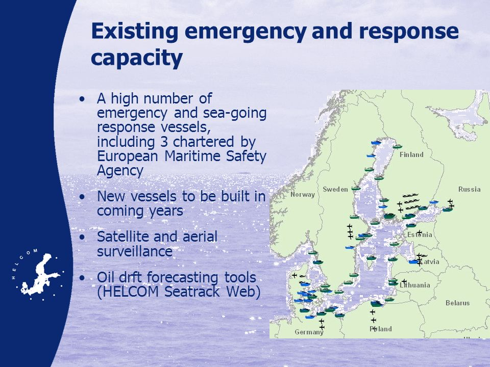 Existing emergency and response capacity