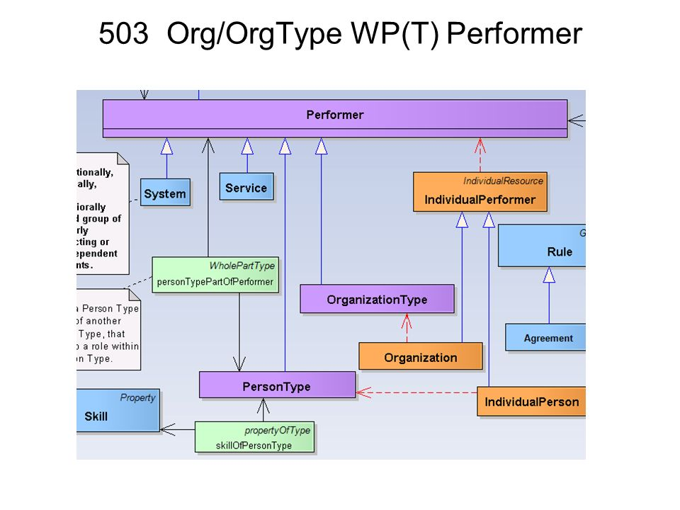 503 Org/OrgType WP(T) Performer