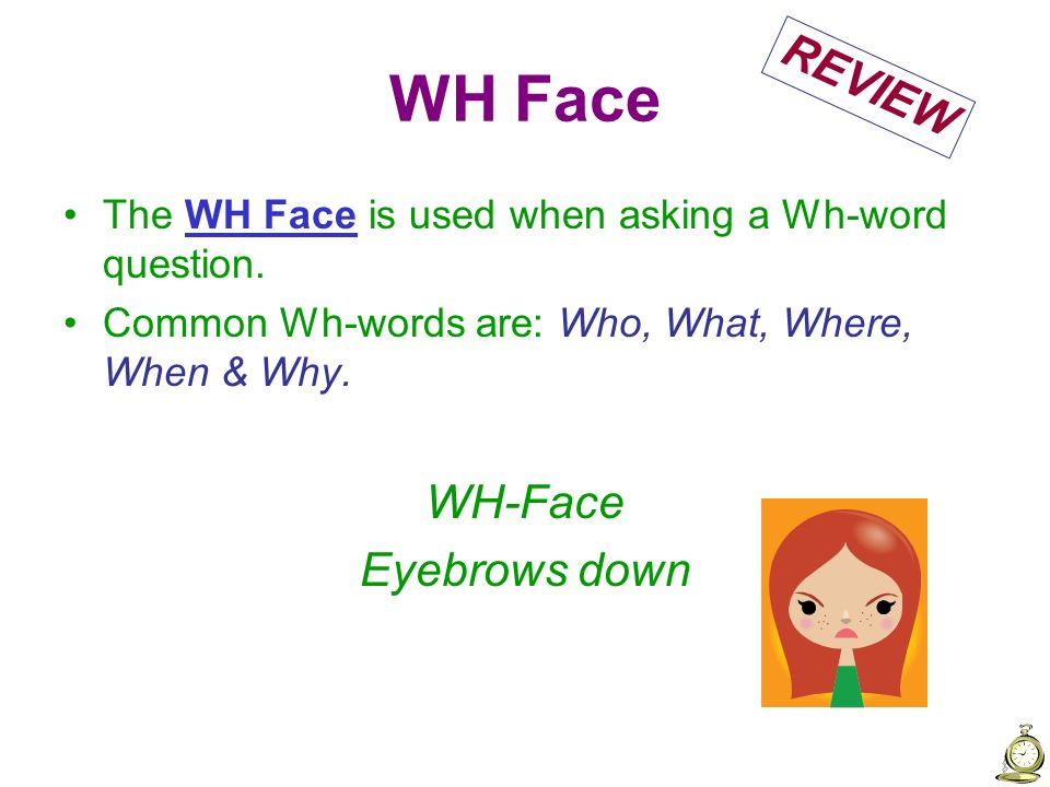 WH Face REVIEW WH-Face Eyebrows down