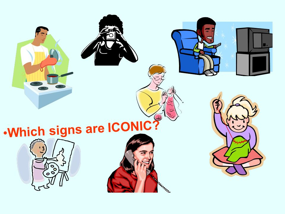 Which signs are ICONIC