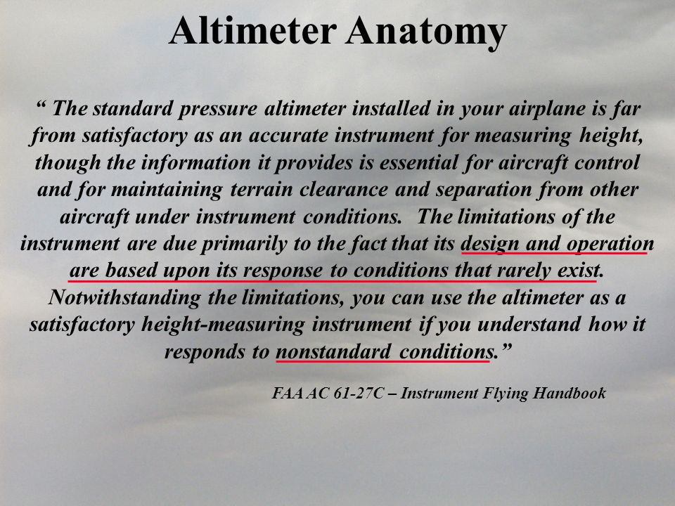 FAA AC 61-27C – Instrument Flying Handbook