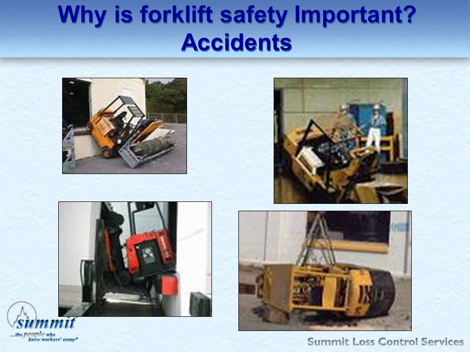 Why is forklift safety Important Accidents