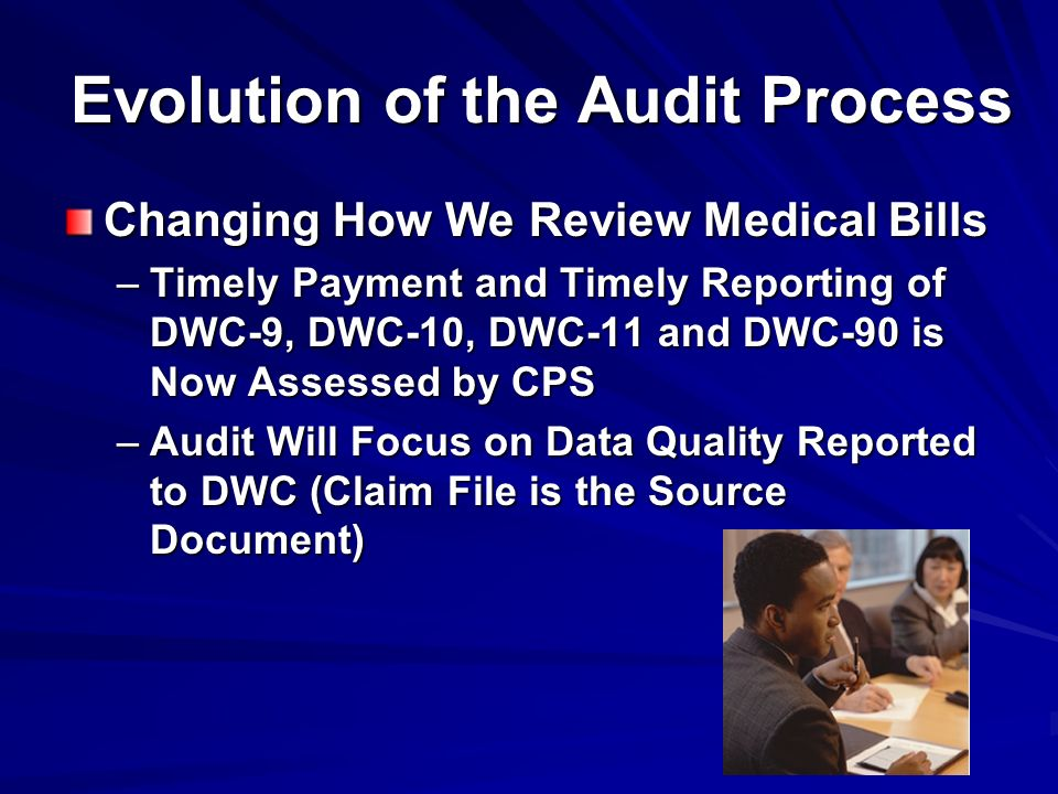 Evolution of the Audit Process