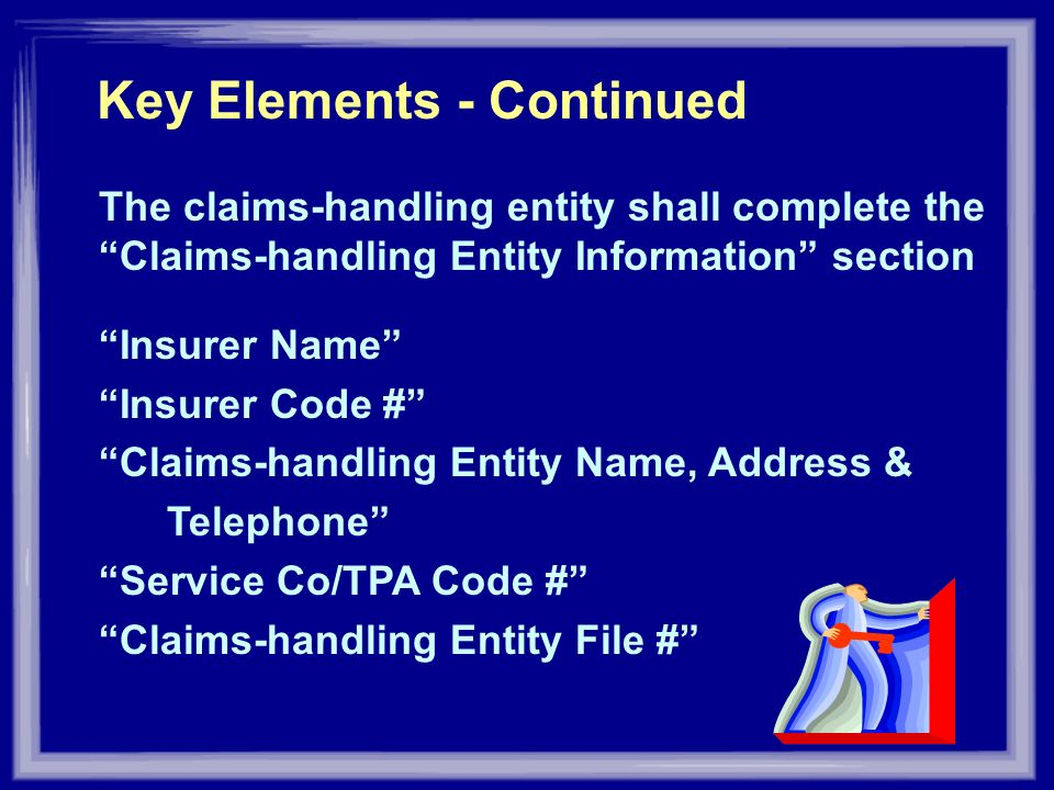 Key Elements - Continued