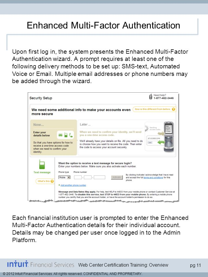 Enhanced Multi-Factor Authentication