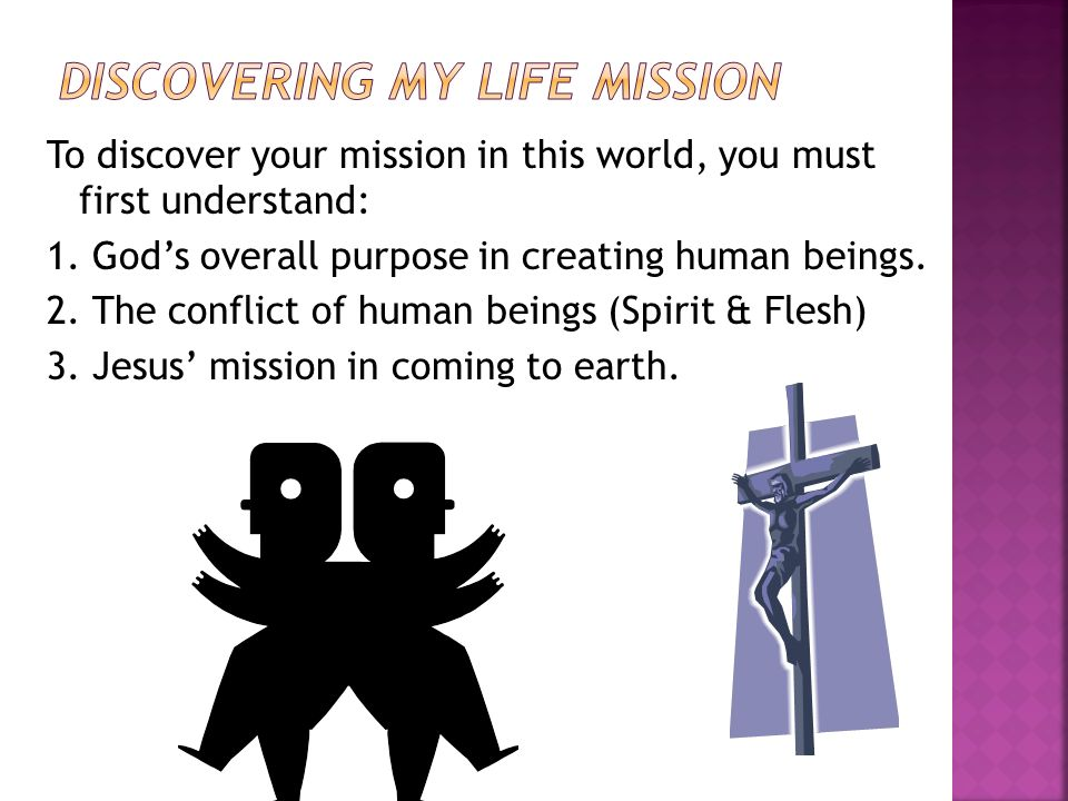 Discovering My Life Mission