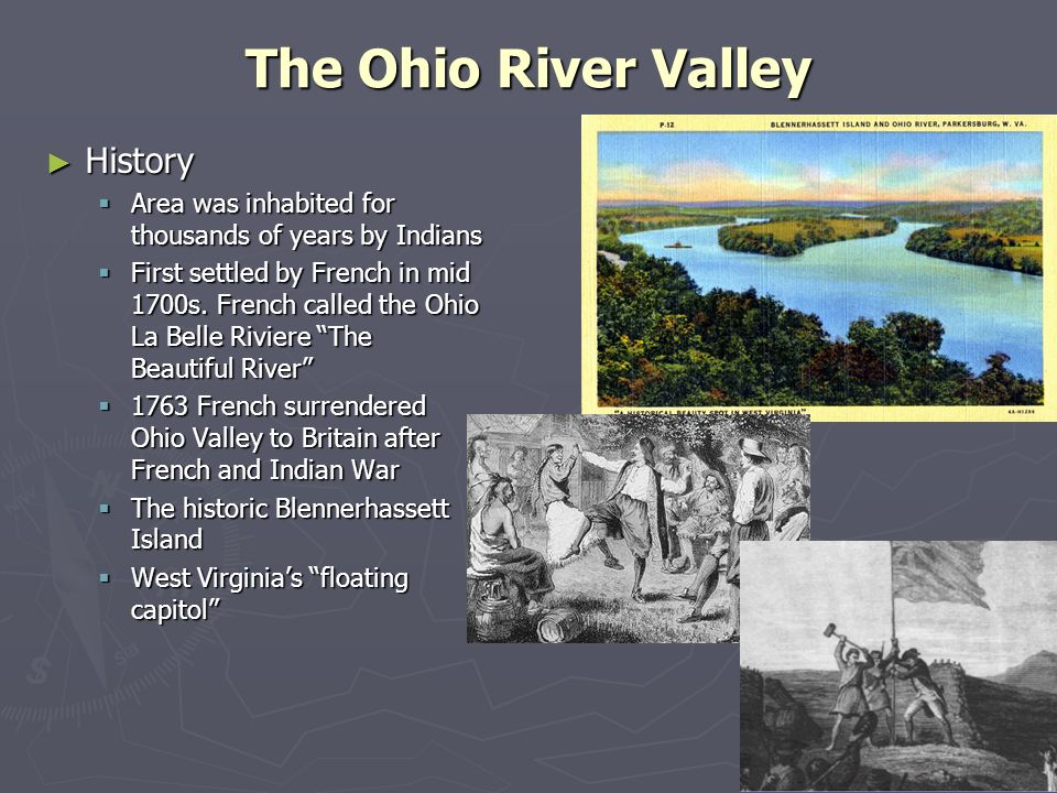 The Ohio River Valley History