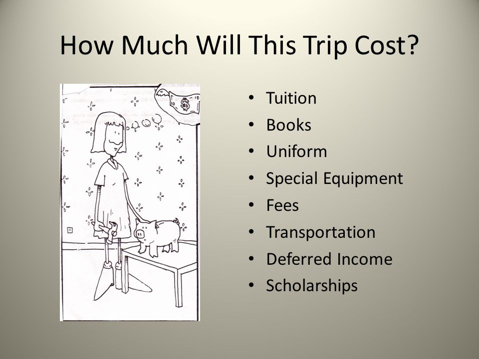 How Much Will This Trip Cost