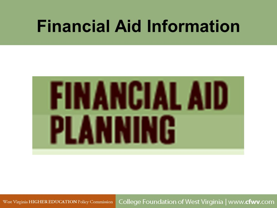 Financial Aid Information
