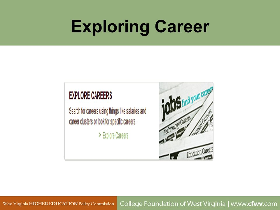 Exploring Career