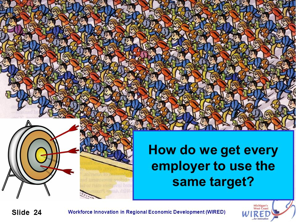 How do we get every employer to use the same target