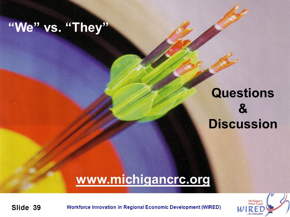 We vs. They Questions & Discussion