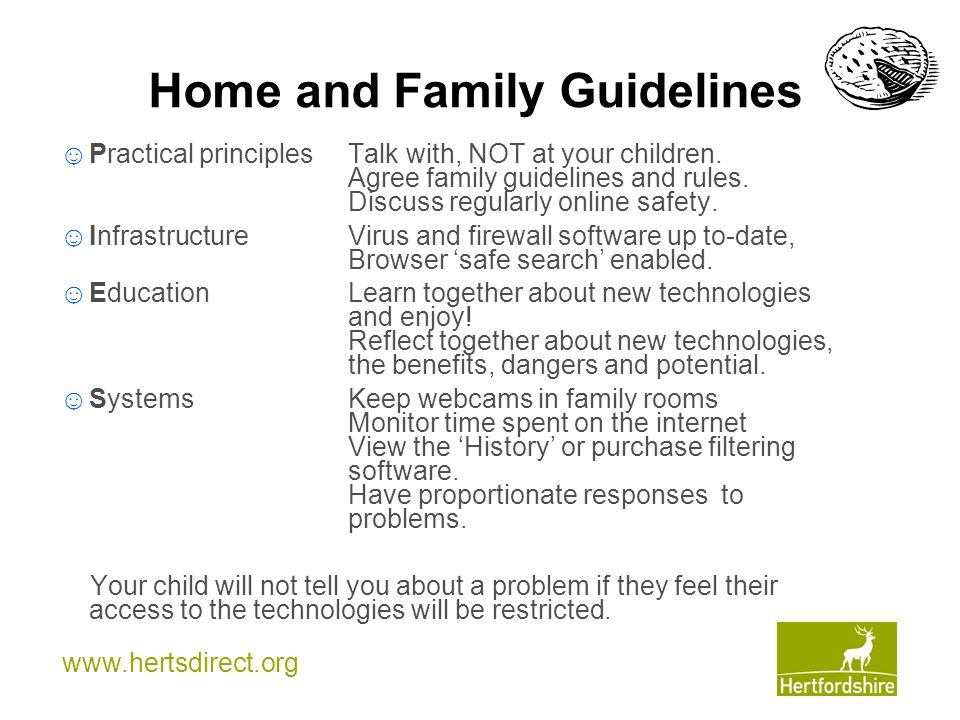 Home and Family Guidelines