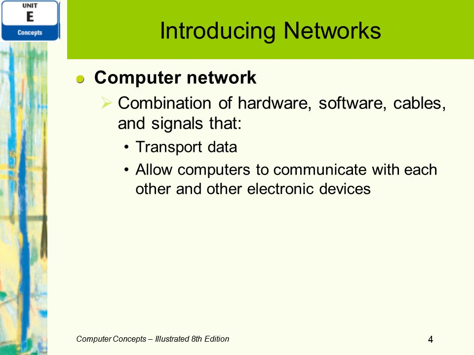 Introducing Networks Computer network