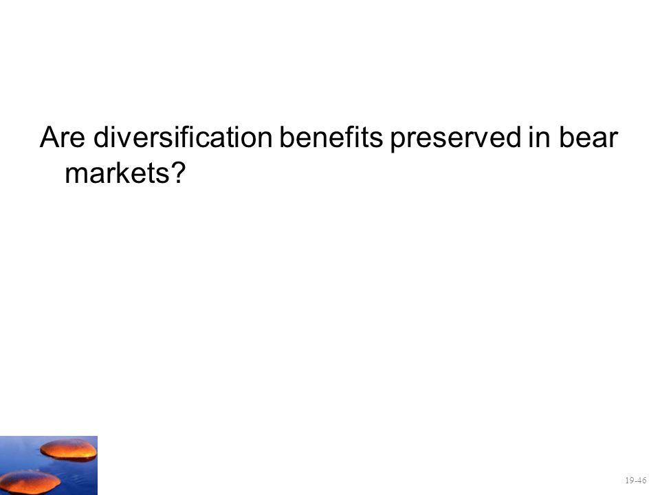 Are diversification benefits preserved in bear markets