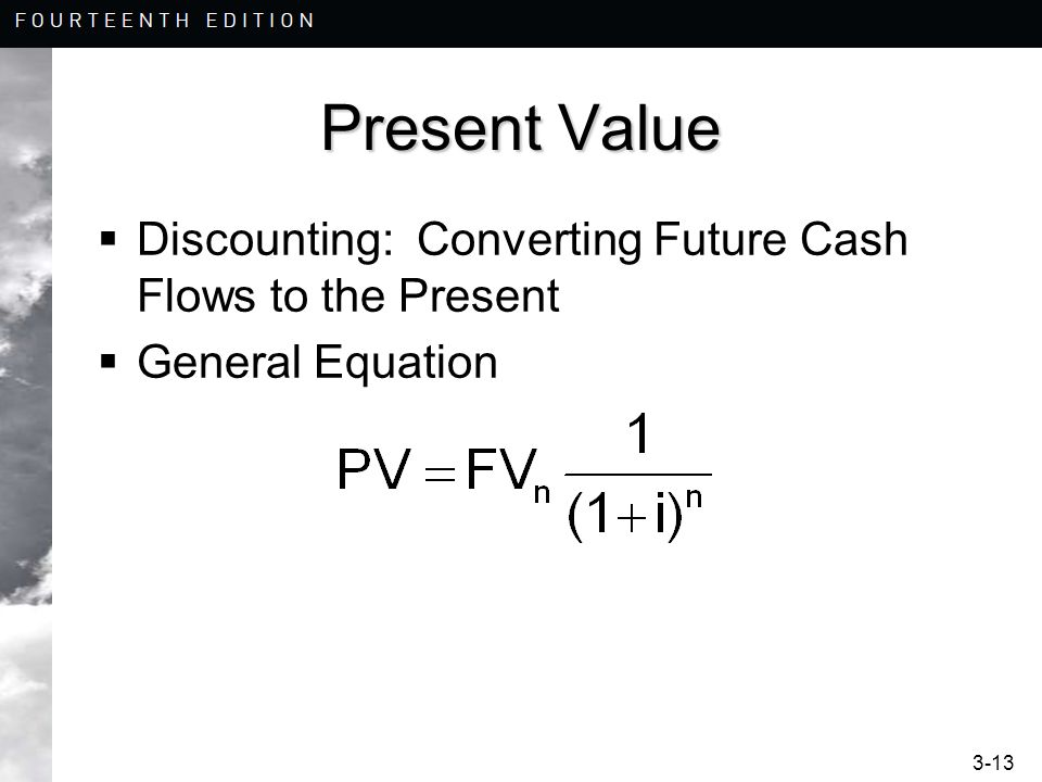 Present Value Discounting: Converting Future Cash Flows to the Present
