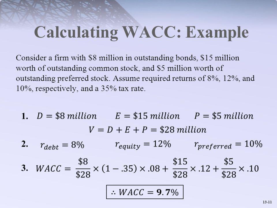 Wacc calculation youtube.