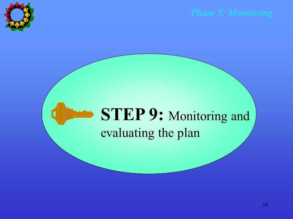 Phase 3: Monitoring STEP 9: Monitoring and evaluating the plan