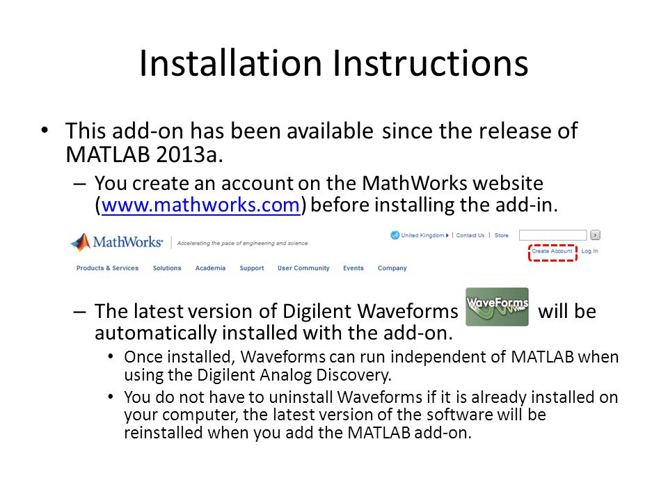 Installing the MATLAB Add-On - ppt video online download