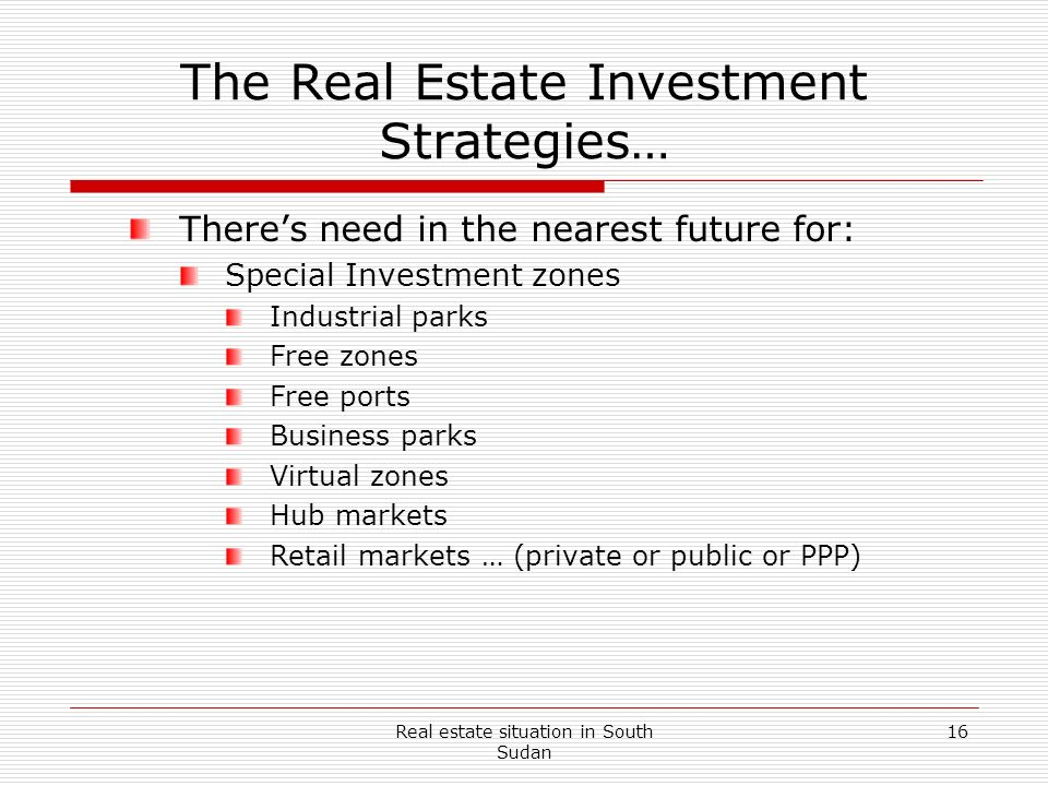 The Real Estate Investment Strategies…