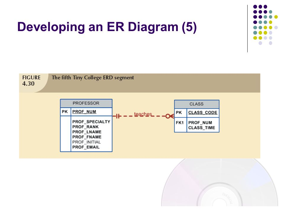 Developing an ER Diagram (5)