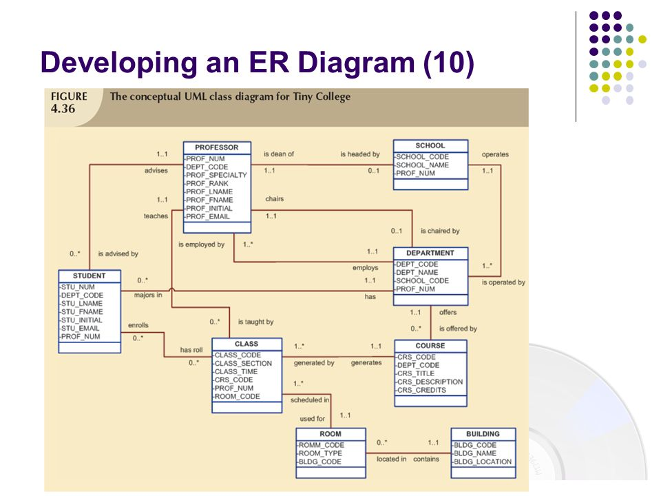Developing an ER Diagram (10)