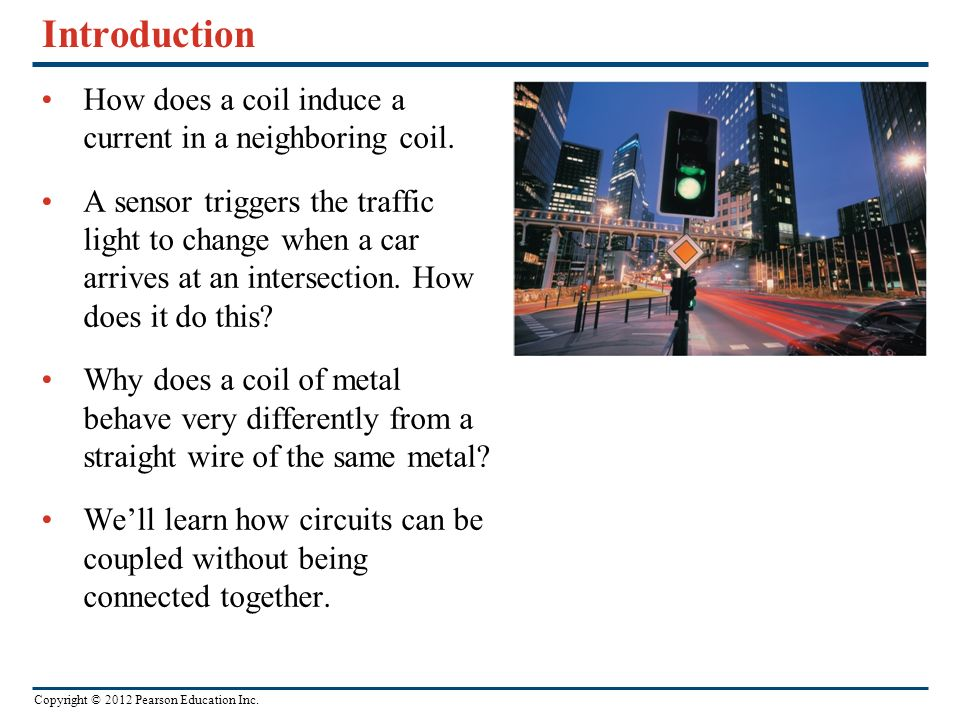 Introduction How does a coil induce a current in a neighboring coil.