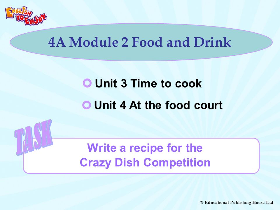 Write a recipe for the Crazy Dish Competition