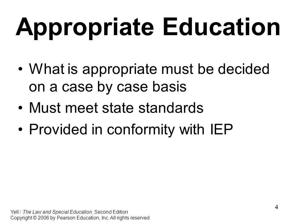 What Is Appropriate Education For >> Free Appropriate Public Education Fape Ppt Video Online Download