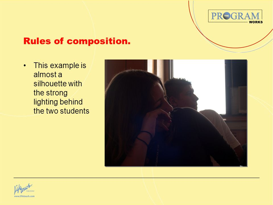 Rules of composition.