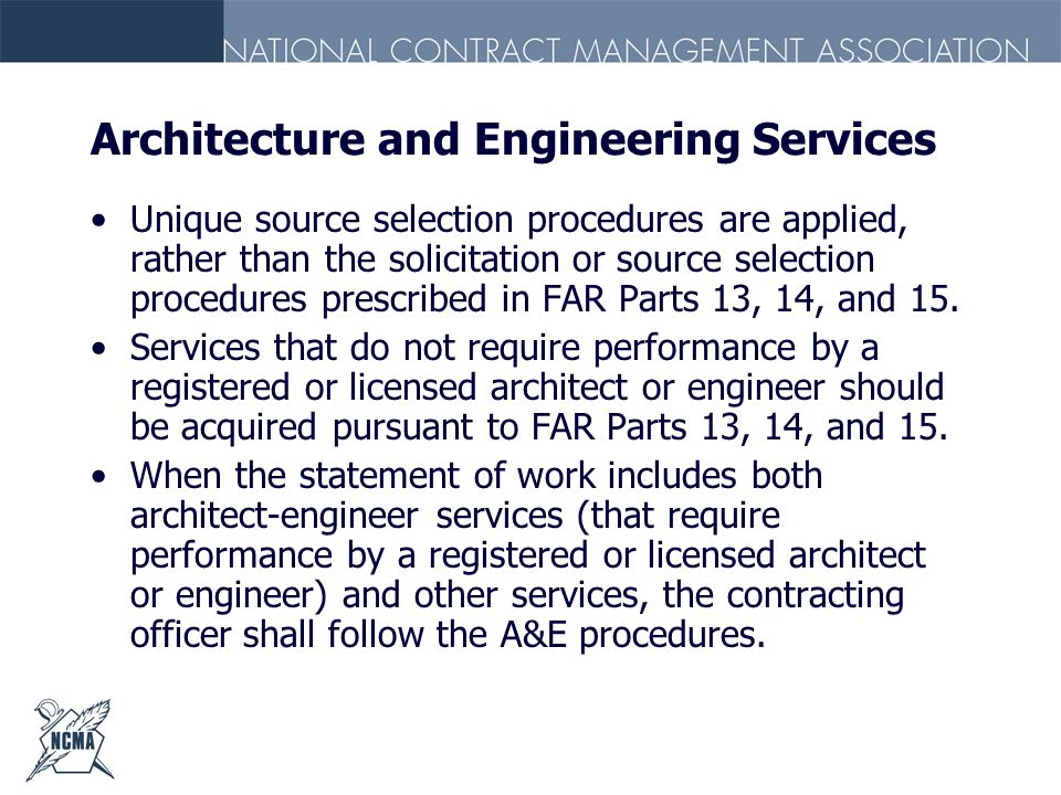 Architecture and Engineering Services