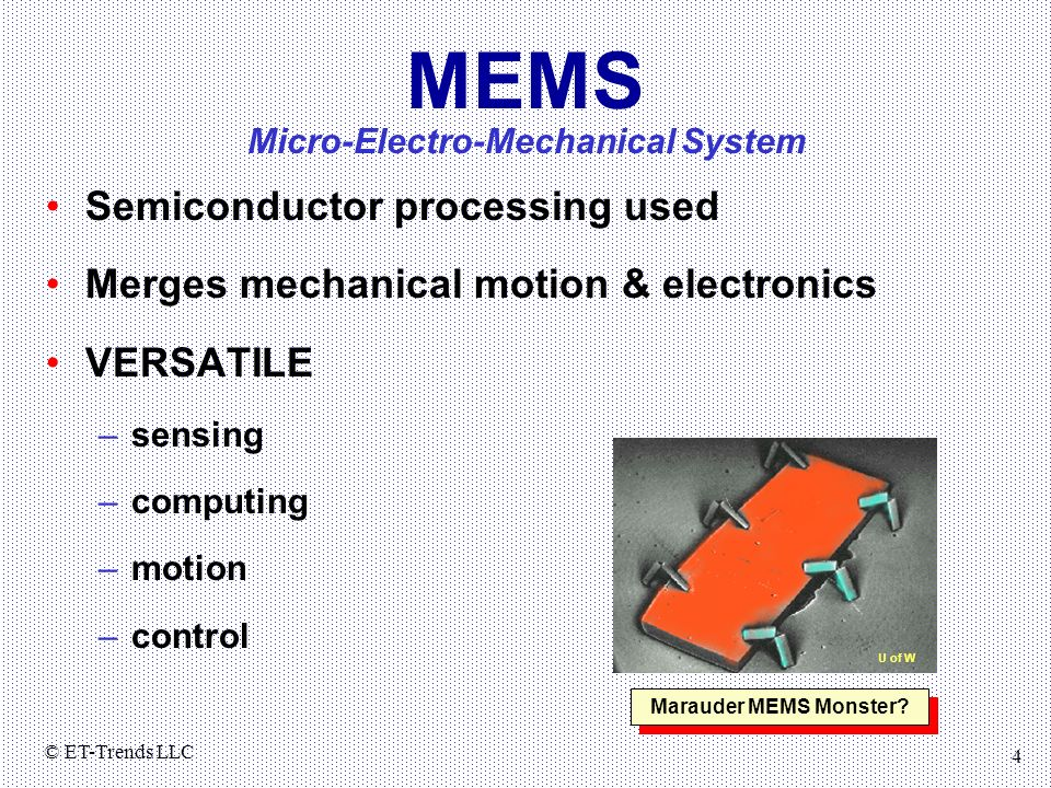 Micro-Electro-Mechanical System