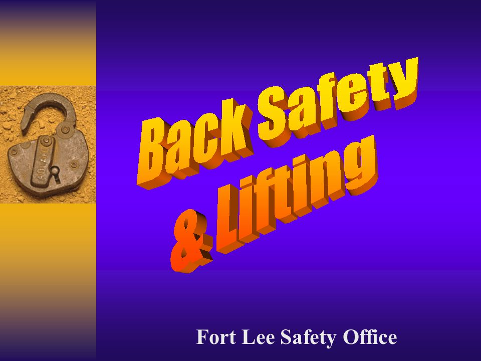 Fort Lee Safety Office