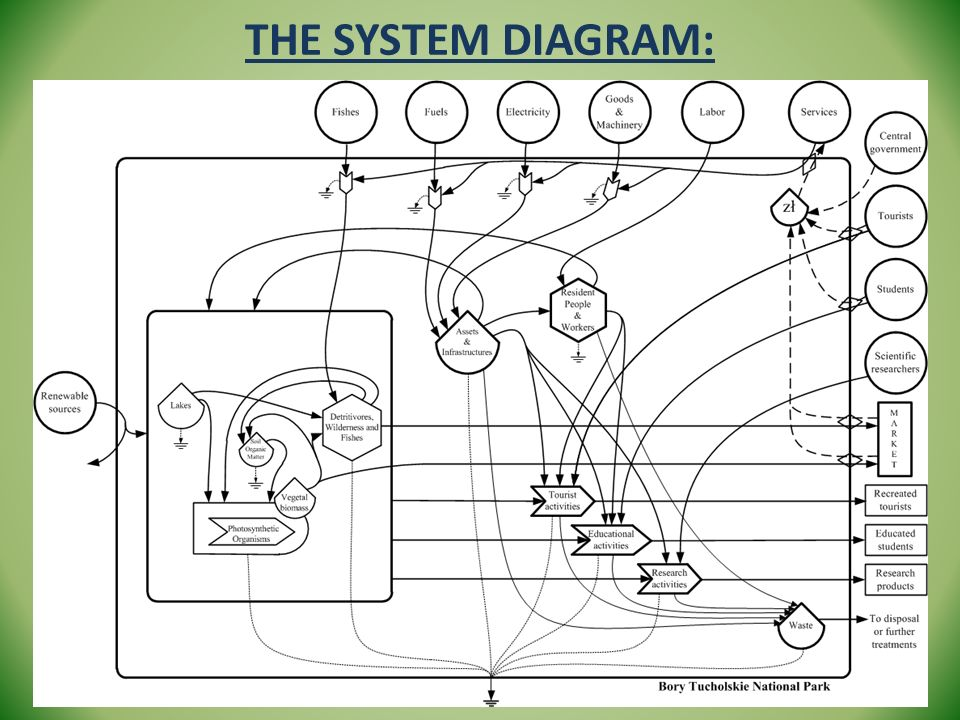 The system diagram: